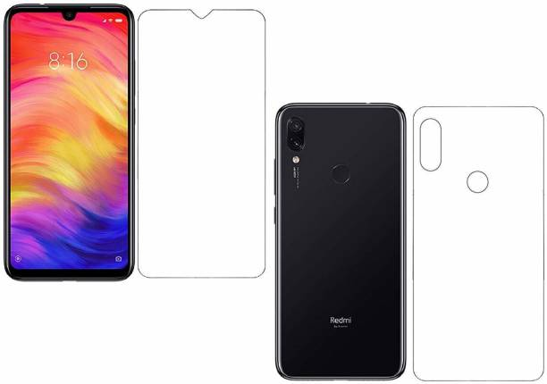 Zootkart Front and Back Screen Guard for Xiaomi Redmi Note 7