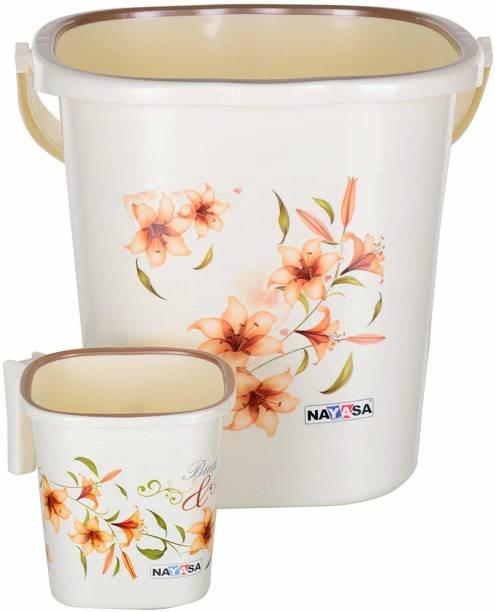 NAYASA 18 L Plastic Bucket