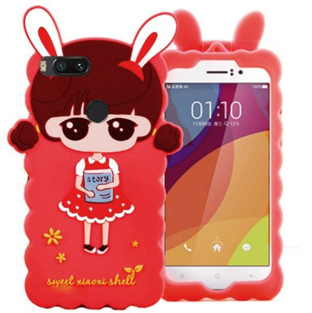 Yofashions Back Cover for Mi A1 Red