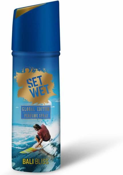 SET WET Bali Bliss Global Edition Deodorant Spray  -  For Men & Women