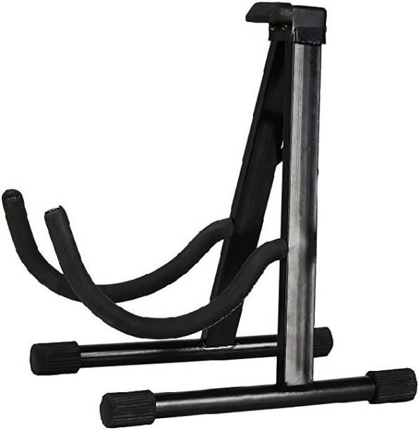 Khushi Musicals Floor Stand For All Type of Guitars A Frame Stand