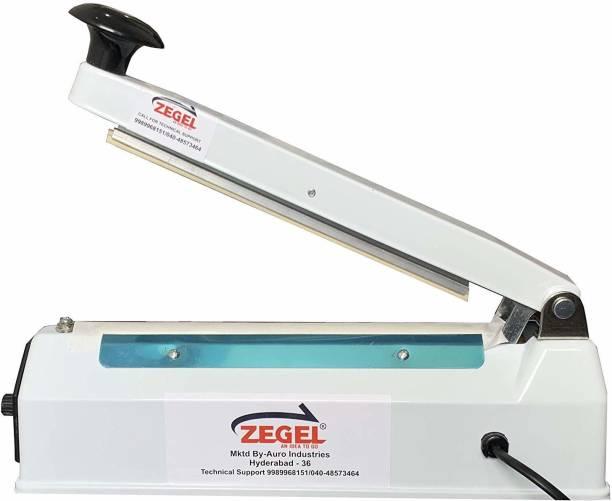 Zegel Heat Sealing Machine Plastic Bag Pouch Impulse Sealer Hand Held Heat Sealer