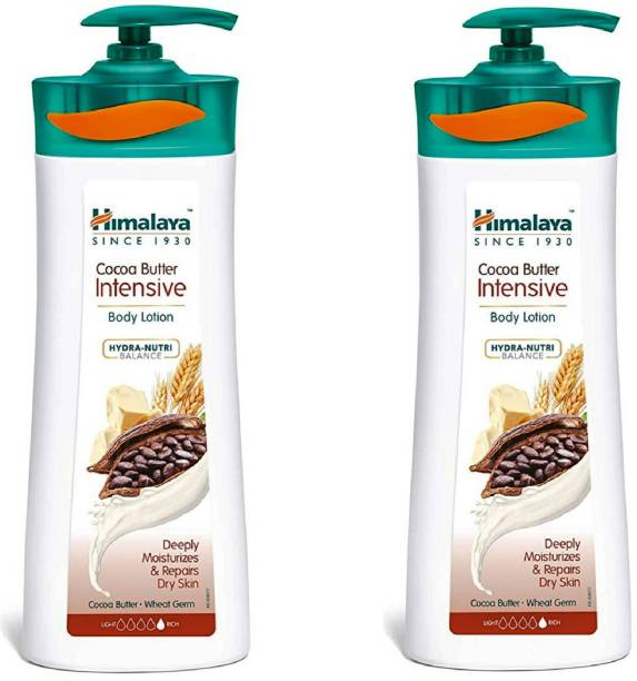 Himalaya Herbals Cocoa Butter Intensive (400 ML) (Pack of 2)