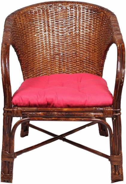IRA Home Décor Chair With Cushion Bamboo Outdoor Chair