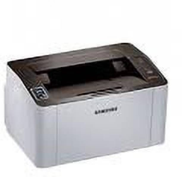SAMSUNG Sl-M2021 Single Function Printer (White, Toner Cartridge) Single Function Monochrome Printer