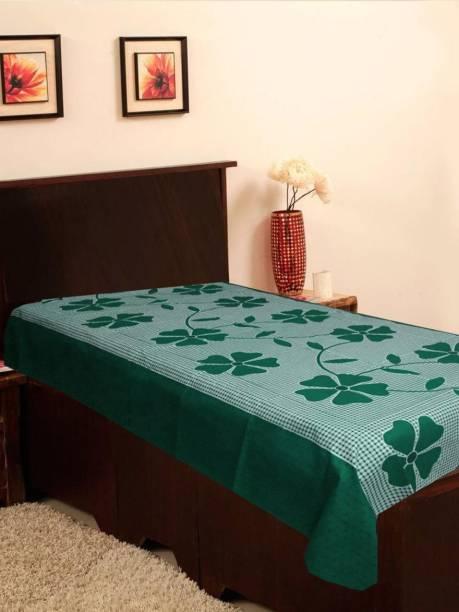 JBG HOME STORE 120 TC Polycotton Single 3D Printed Bedsheet