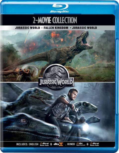 Jurassic World 2 Movies Collection - Jurassic World: Fallen Kingdom + Jurassic World (2-Disc)