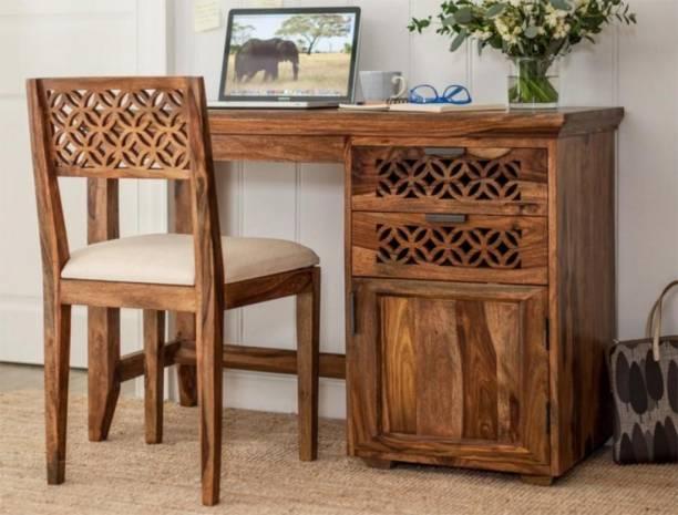 DriftingWood Solid Wood Study Table