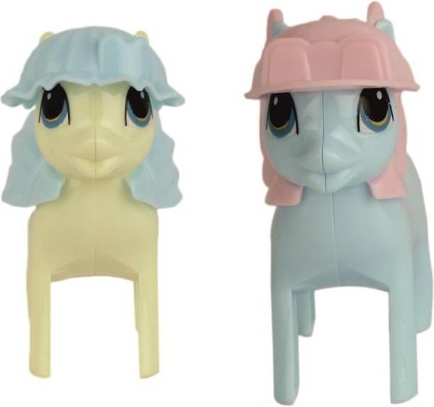 PASSION PETALS unicornsharpeneryellowblue Rotary Single Pencil Sharpeners