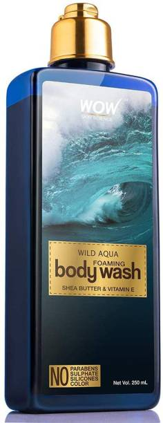 WOW SKIN SCIENCE Wild Aqua Foaming Body Wash