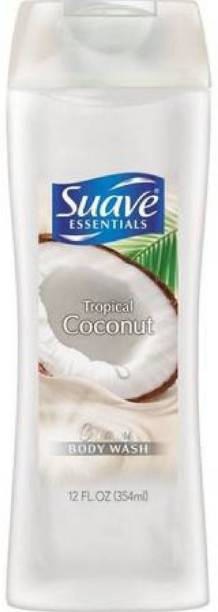 Suave Essentials Body Wash Tropical Coconut 12 Ounce 2 Pack [CAT_5000]