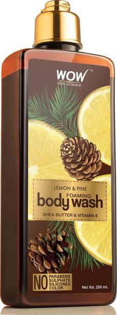 WOW SKIN SCIENCE Lemon & Pine Foaming Body Wash