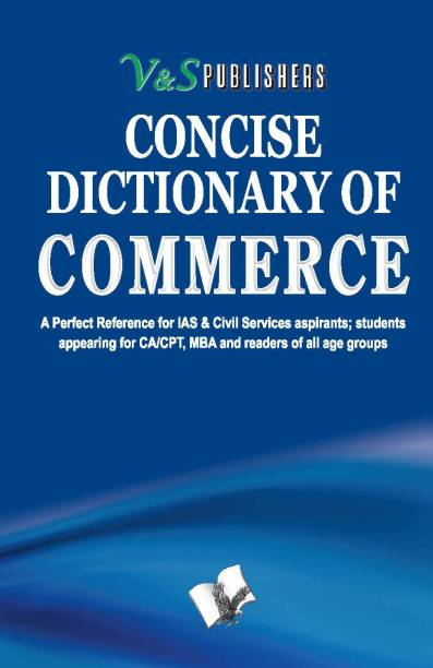 Concise Dictionary Of Commerce 1 Edition