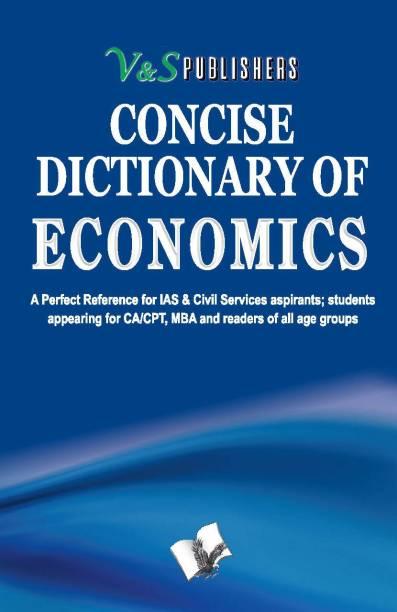 Concise Dictionary Of Economics