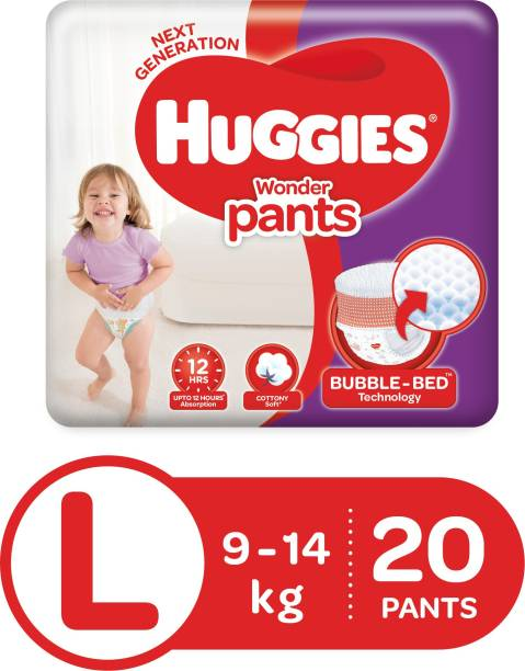 Huggies Wonder Pants Diapers - L