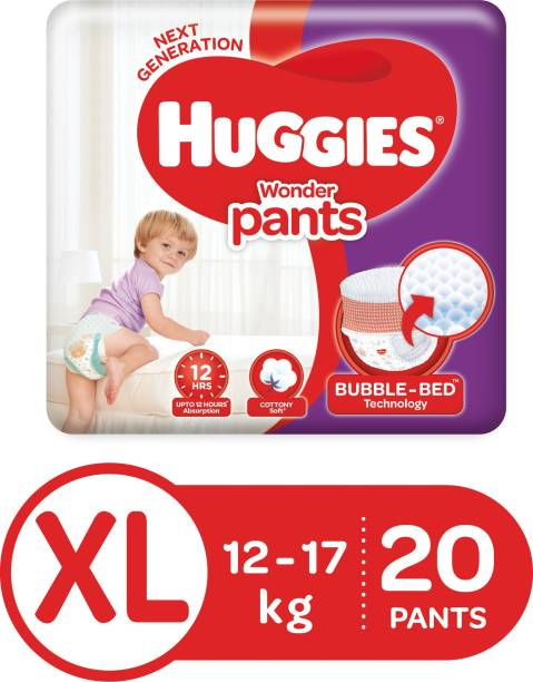 Huggies Wonder Pants Diapers - XL