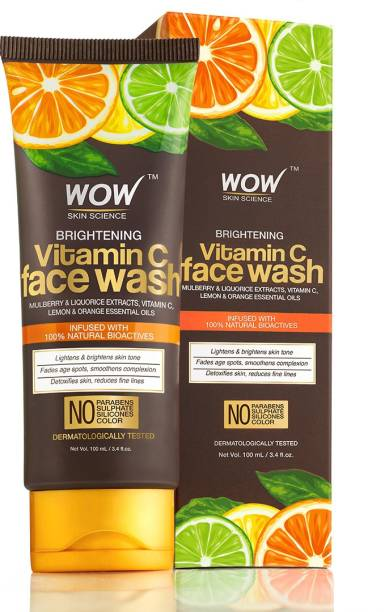 WOW SKIN SCIENCE Vitamin C  100ml Tube Face Wash
