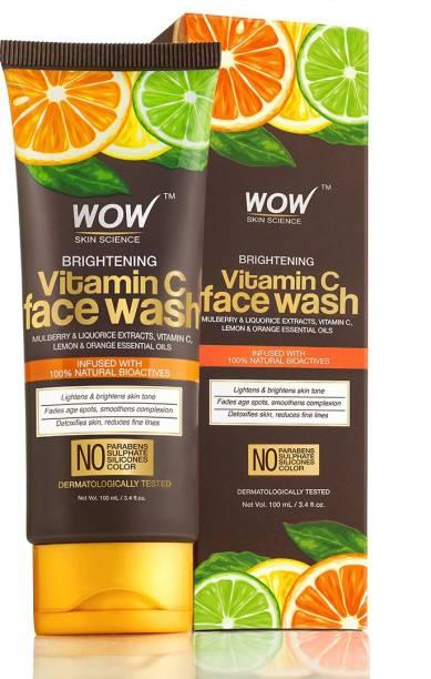 WOW SKIN SCIENCE Vitamin C  100ml Tube Face Wash