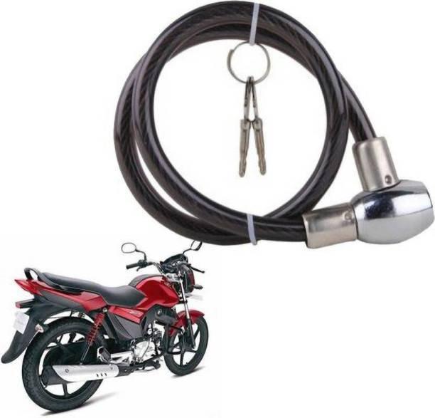 JCTEK Iron, PP (Polypropylene) Cable Lock For Helmet