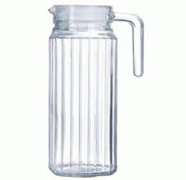 Glass World 1.3 L Water High Quality & durable Square Glass Jug Jug