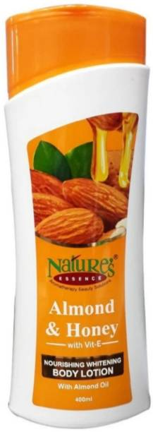Nature's Almond and Honey with Vit-E & Almond Oil Nourishing whitening Body Lotion 400 ml