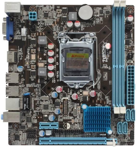 ZEBRONICS H61 Supported Socket 1155 RAM DDR3 Motherboard