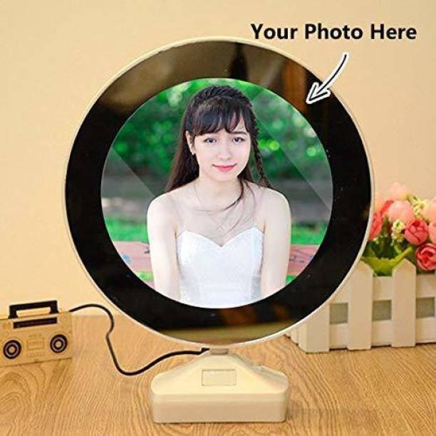 CASEMANTRA Magic Mirror Photo Frame 8 inch 3D