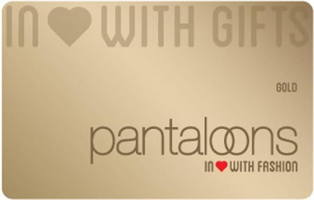 Pantaloons Physical Gift Card