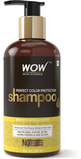 WOW SKIN SCIENCE Perfect Color Protection Shampoo - No Parabens, Sulphates & Silicones
