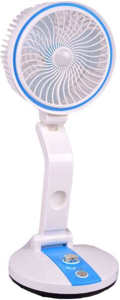 Adonai Rechargeable Multifunction / Multiposition fan & LED light with USB Charger FF-2020 Rechargeable Folding Fan with LED light Rechargeable Fan, USB Fan, Led Light