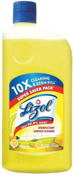 LIZOL Disinfectant Surface Cleaner Citrus 975ml Lemon