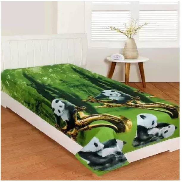 Home Readiness 140 TC Polycotton Double Animal Bedsheet