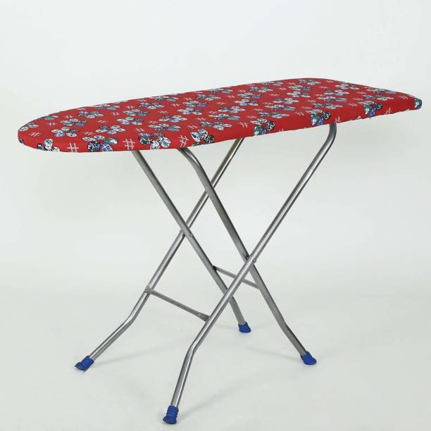 NHR Wooden Foldable Ironing Board with Height Adjustable Ironing Board