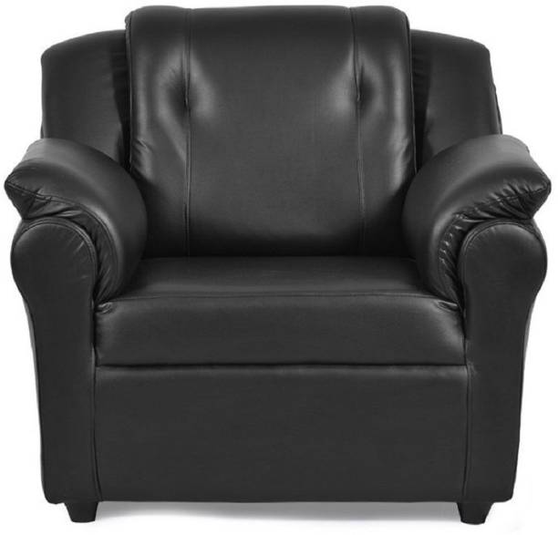 gnanitha Leather Living Room Chair