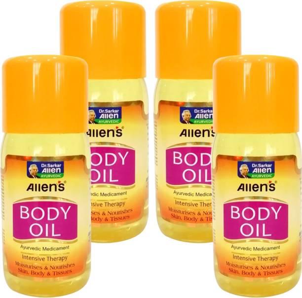 Allen's Body Oil (200ml X4)
