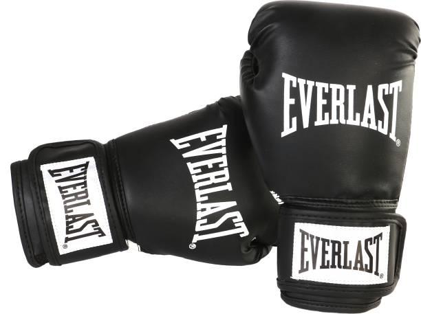 EVERLAST Classic Black 12oz Boxing Gloves