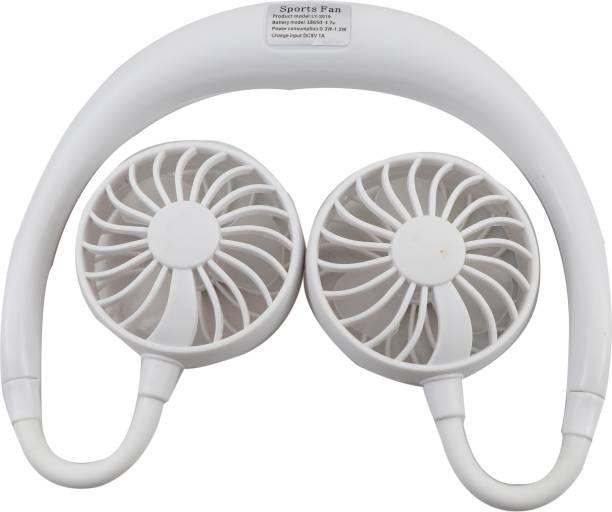 UnV UnV 123 Smart Sports Fan Wearable sports Fan Rechargeable Fan, USB Fan, USB Charger