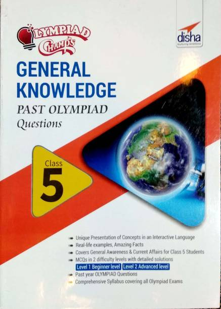 Olympiad Champs General Knowledge Class 5 with Past Olympiad Questions