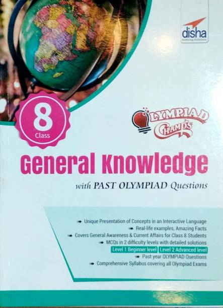 Olympiad Champs General Knowledge Class 8 with Past Olympiad Questions