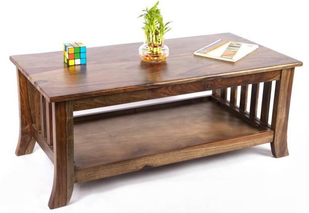 Ikiriya CTSW0243-2-0 Solid Wood Coffee Table