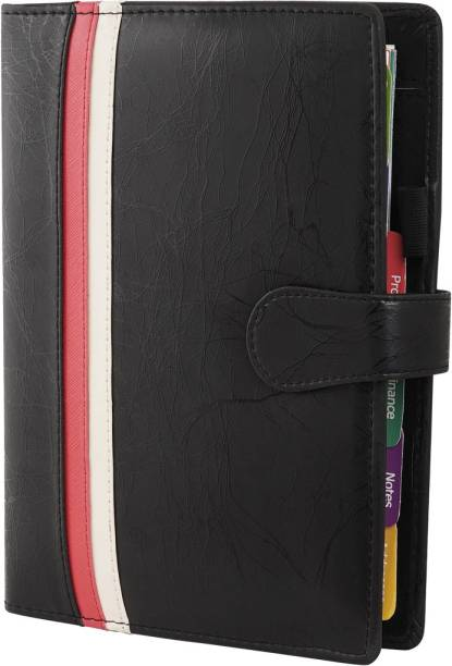 PAPERLLA Black Dated Business Organizer B5 Planner/Organizer RULED 314 Pages