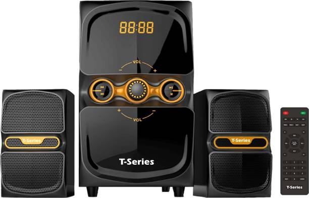 T-Series M-22 2.1 Channel Multimedia Speakers System 2.1 Home Cinema
