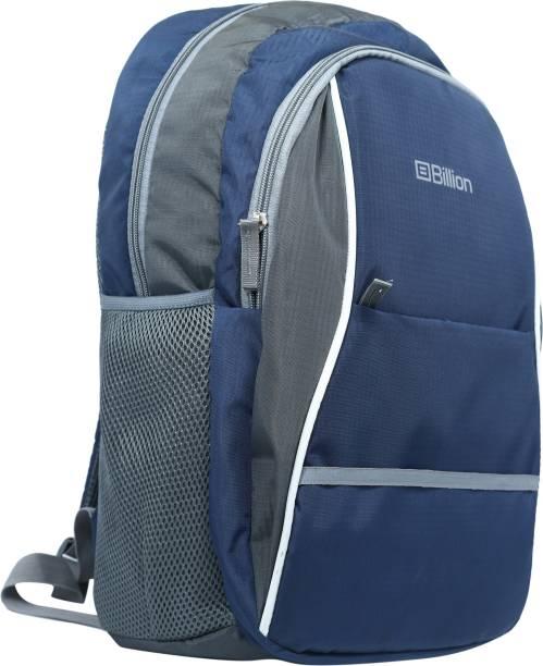 Billion BLN-1-Grey-Navy blue-HiStorage 30 L Laptop Backpack