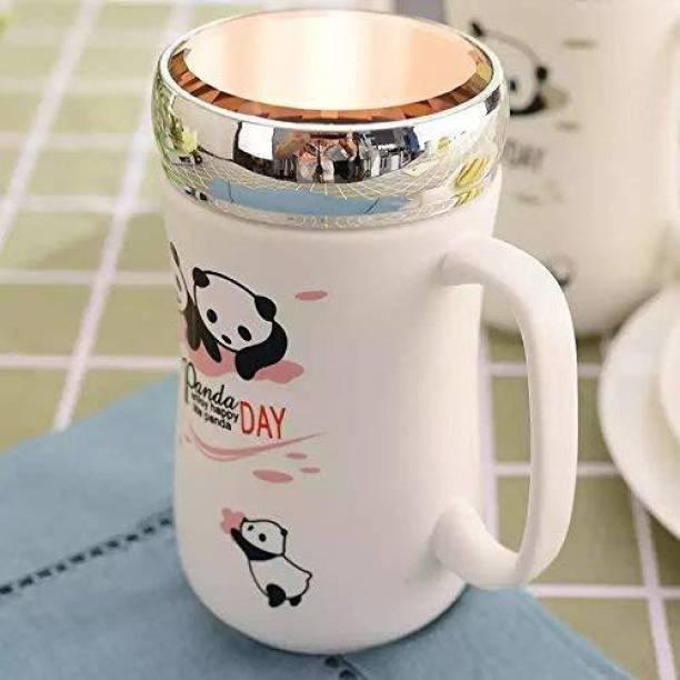 Satyam Kraft Ceramic(1 Piece)Panda Printed … Ceramic Coffee Mug