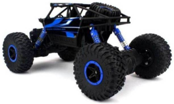 Crazy Toys Rock Crawler Rally Remote Control Car With Strong Suspension And Big