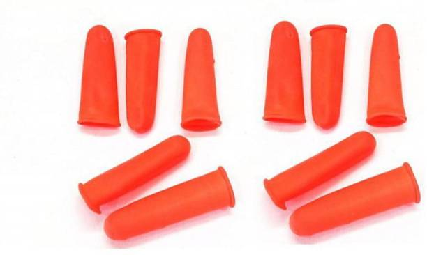Ask India Rubber Finger Protection Cots Rubber  Safety Gloves