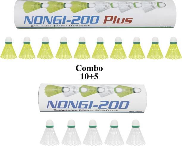 Nongi Plus Plastic Shuttle  - Yellow