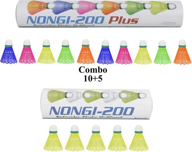 Nongi Plus Plastic Shuttle  - Multicolor