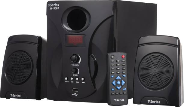 T-Series M150BT 2.1 Multimedia Bluetooth Speaker System Black 27 W Bluetooth Home Theatre
