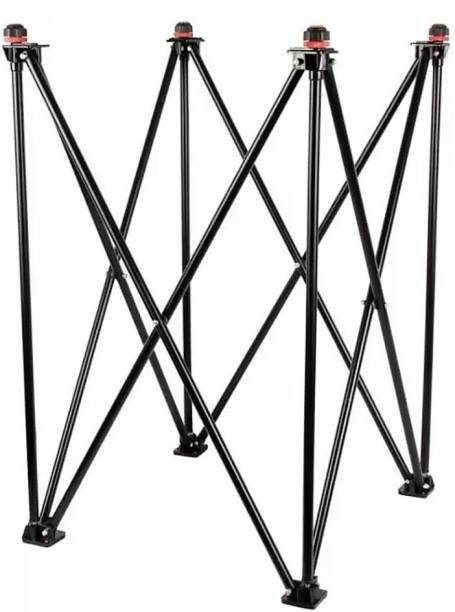 SF Carrom Stand Foldable Height Adjustable Carrom Stand Carrom Stand (Steel, Black) Carrom Stand